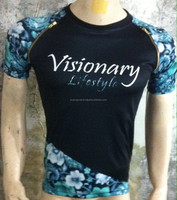 Sublimation t shirts / customize 100% Polyester Sublimation T Shirts / sublimated shirts made from Boeing Industries BI-2918