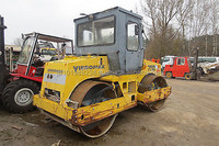 USED MACHINERIES - VIBROMAX 10 TON TANDEM VIBRATORY ROLLER (3538)