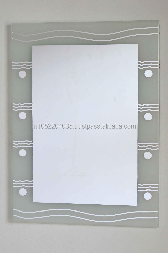 Simple fashion frosted mirror/decorative wall silver mirror /LED mirror