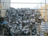 99% pure aluminum alloy wheel scrap
