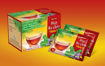 TRA TAN DIEP HA CHAU Tea, Support treatment liver dysfunction in chronic hepatitis with symptoms:jaundice,anorexia,abdominal