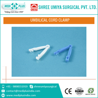 Mediplus medical disposable sterile plastic umbilical cord clamp