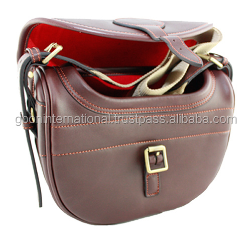 Hunting and Shooting Cartridge bag , Hand made leather bags