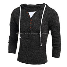 Custom Men's Winter Fashion Hooded