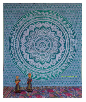 Hippie Tapestry Elephant Wall Hanging Bohemian Tapestries Indian Beach Blanket Queen size