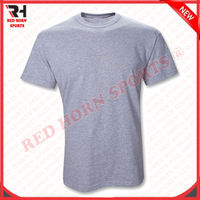 Men's Short Sleeves T-Shirt with Printing, Wholesale Plain Cheap T-Shirts, Cool Cotton T-Shirts