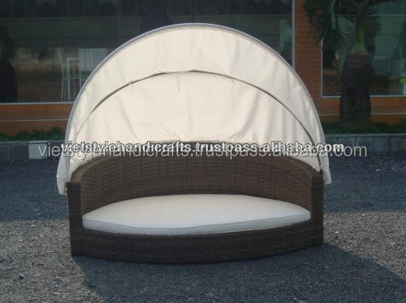 Poly rattan dog bed, animal house, pet house - Skype: Ms.RICO.VietStyle