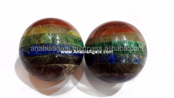 Gemstone Agate Selenite Ball