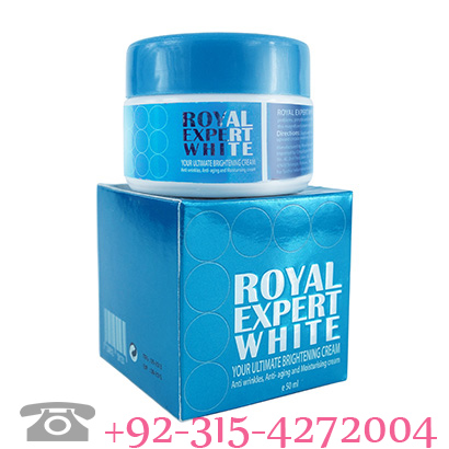 royal expert whitening crea