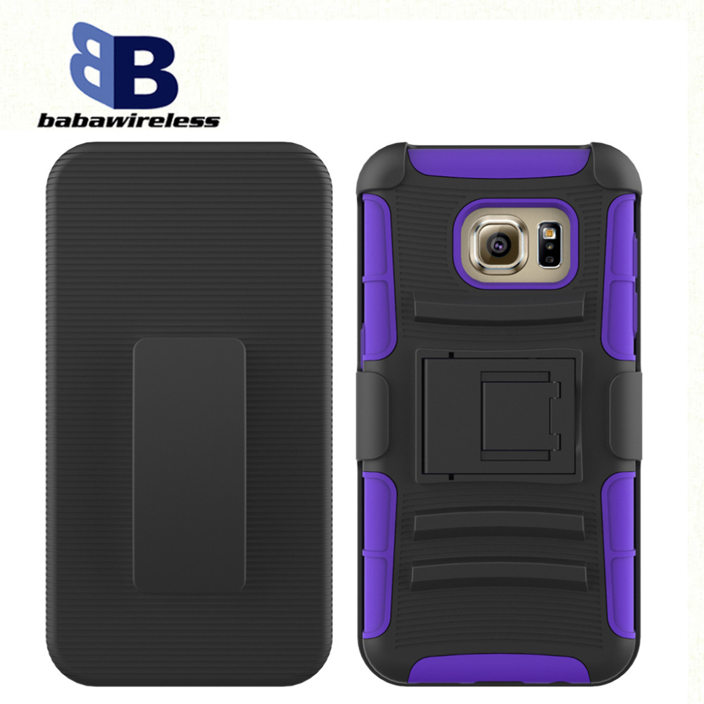 Custom phone case Armor Robot 3 in 1 slide sets of mobile phone shell PC+silicone matrial