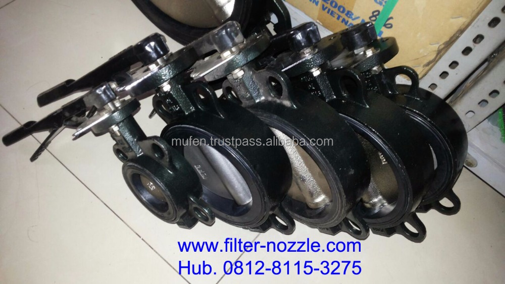 Butterfly Valve for water treatment