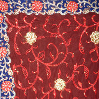 Wholesale Clothing Indian Hot Selling Embroidery Work Fabric