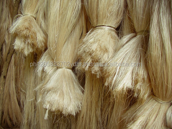 100%Natural Sisal Fiber Making Sisal Rope