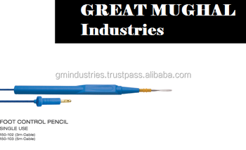 Finger switch ESU Pencil Disposable Reusable Electrosurgery Surgical Tools Other Bipolar Forceps and Electrodes by GMI