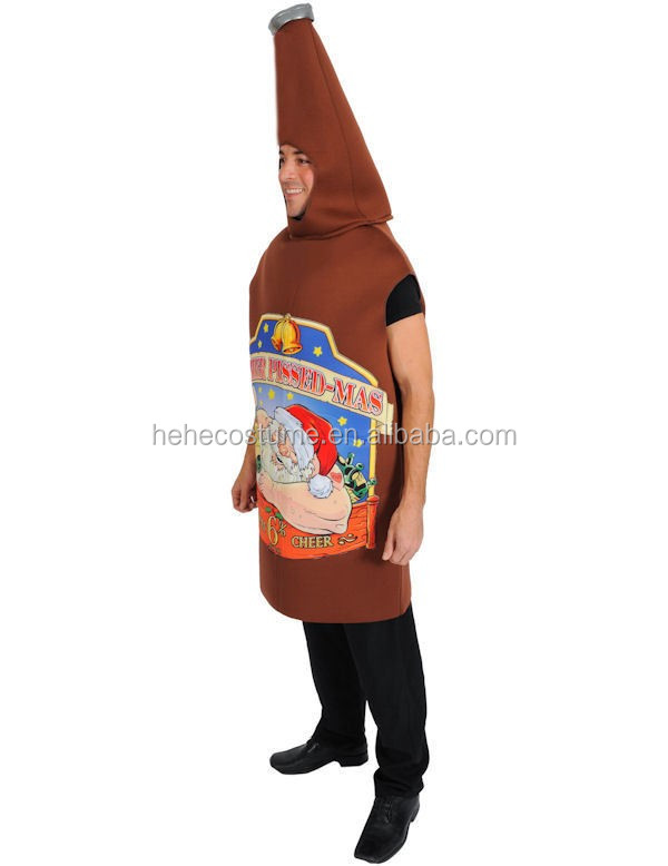 Mas Beer Bottle Costume