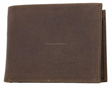Natural strong genuine leather wallet With Triplefold By Wingstraders