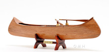 Indian Girl Canoe - High quality handmade wooden boat model