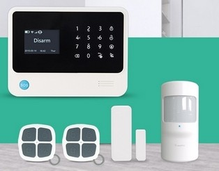 GSM WIFI GPRS Wireless Home Security Alarm System Work With 100 WIFI IP Cameras Burglar Alarm System for Home Security