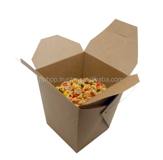 Chinese noodle box for packing healthy meals