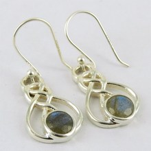 Best Deal Today !! Labradorite 925 Sterling Silver Earring, 925 Indian Earring, All Over World Shipping
