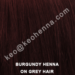 Natural Burgundy Henna Powder Hair Dye