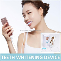 Teeth whitening gel, Teeth whitening kit, Teeth whitening with Blue LED