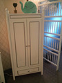 nursery bed room set , baby bed room set , crib with wardrobe,furniture