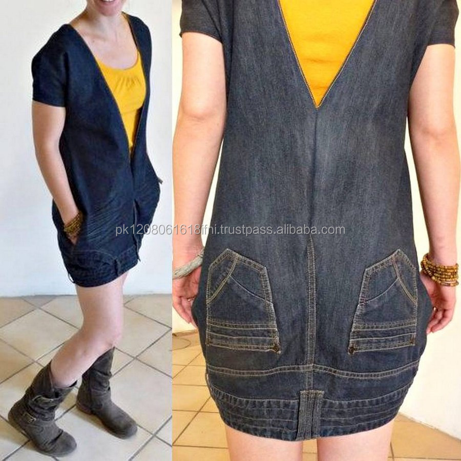 very stylish upside down jeans fashion dress street wear for girls and ladies