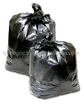 Garbage bag cheap price for daily use/ HDPE and LDPE plastic garbage bag