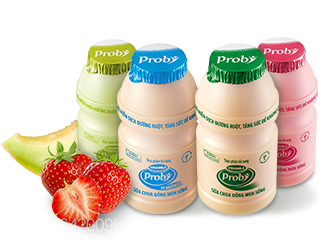 Vinamilk Probi drinking yogurt fortified Probiotic cultures