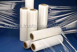 Plastic Clear LLDPE Stretch Film