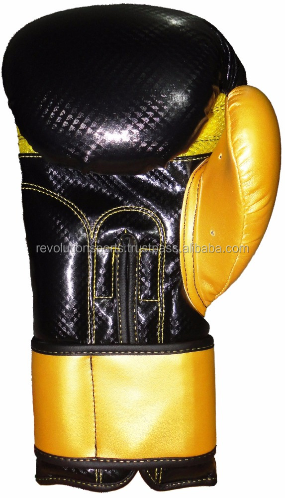 Exotic boxing gloves synthetic Leather/Maya Leather Velcro Designs 2017 Best sellers