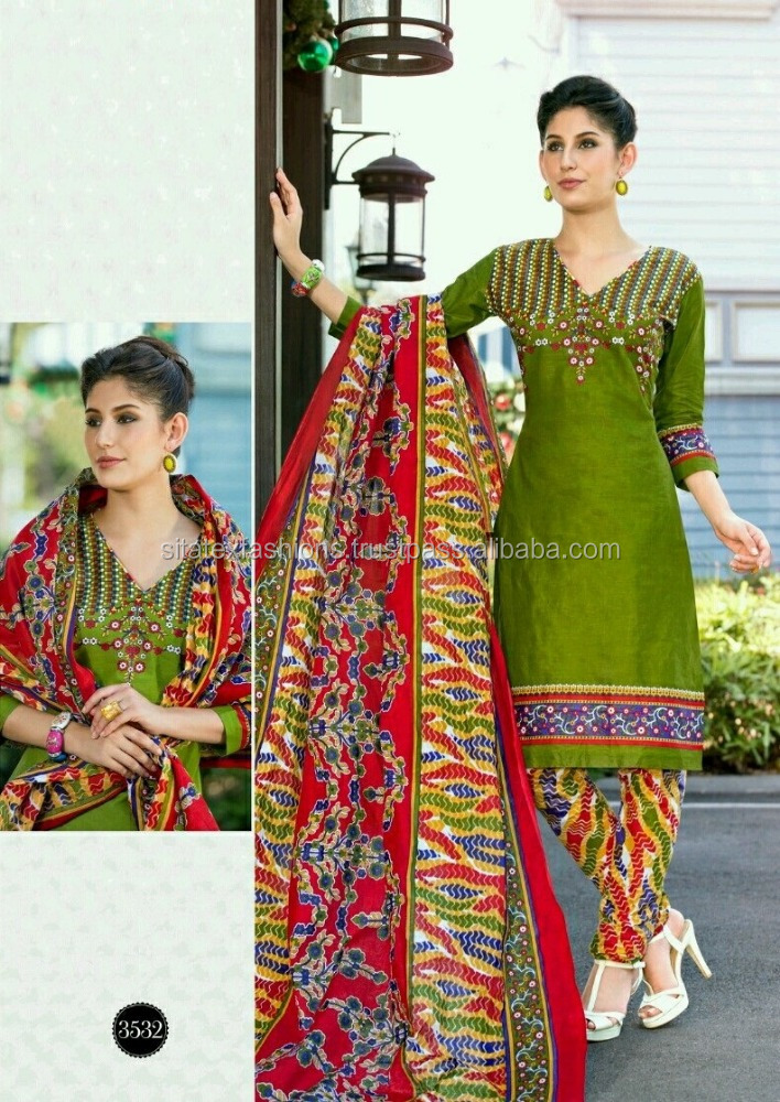 Printed Readymade Printed Suits (Pure Cotton )