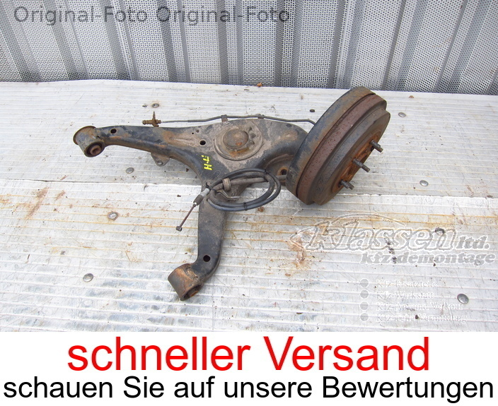 stub axle knuckle rear left forToyota HIACE IV Bus 2.5 D-4D 11.01-08.06
