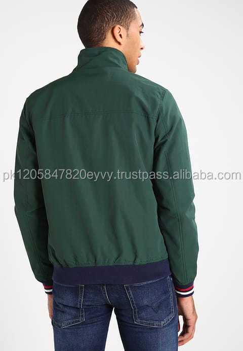 Outdoor softshell men winter jacket bomber wear 100% polyester down padded jacket