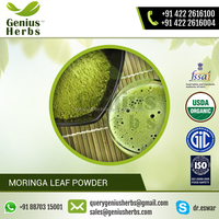 Easily Water Soluble Moringa Leaf Powder by a Leading Manufacturer