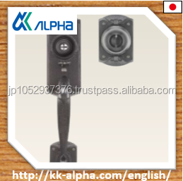 ALPHA#3690 Japanese high security antique style lock for european modular homes door with best price