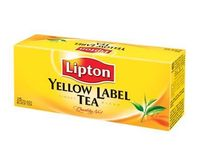 Tea, lipton yellow label