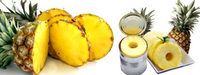 Canned Pineapple Types - Pineapple Slices, Pineapple Chunks, Pineapple Tidbits - Pieces.