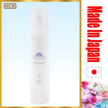 Anti-aging skin whitening face night cream for men gel lotion with natural ingredients made in Japan