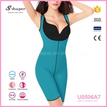 S-SHAPER Neoprene Rubber Women'S Ultra Sweat Bodysuit U0506A7