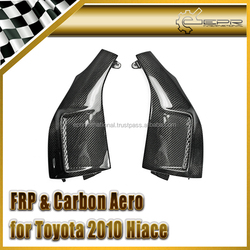 For Toyota 2010 Hiace 200 Carbon Fiber Front Fender Add On Vents Ducts
