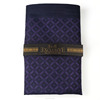 Purple Checked Pocket Square, Production, Manufacturing, custom, Hankercheif,