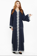 Exclusive blue color work abaya for women in wholesale- Islamic clothing wholesale