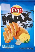LAY'S 28g MAX Cheese and Green Onion Chips