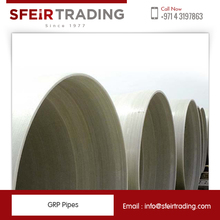 Non-Conductive Material Made GRP Fiberglass Pipes with Various Application