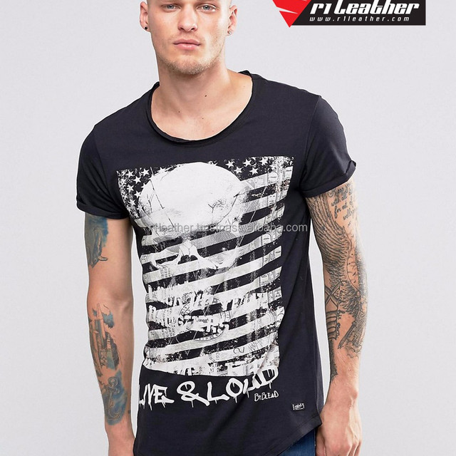 Custom Men Plain TShirt Printing Wholesale Tall T-Shirts