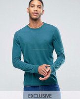 Casual Slim Fit Stylish Fashion Long Sleeve T Shirt Wholesale,Plain Long Sleeve T Shirt, Mens Tight Fit Long