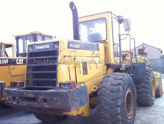 Loader komatsu used wheel WA380-3 , also WA70,WA100,WA380-6,WA400