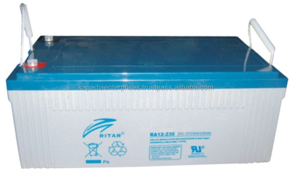 12V 230Ah Gel Deep Cycle Battery
